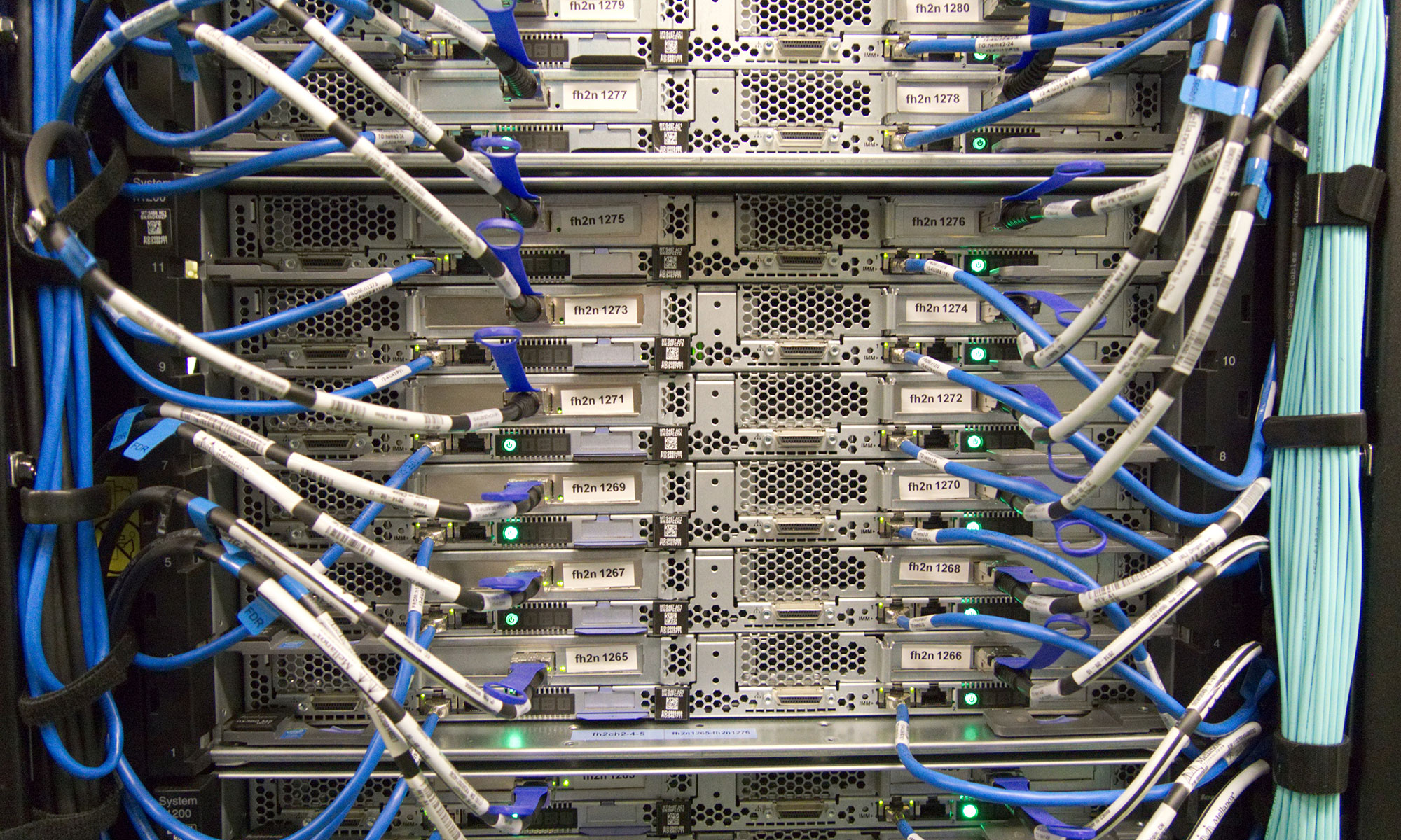 Rechenzentrum für Domain- und Webhosting