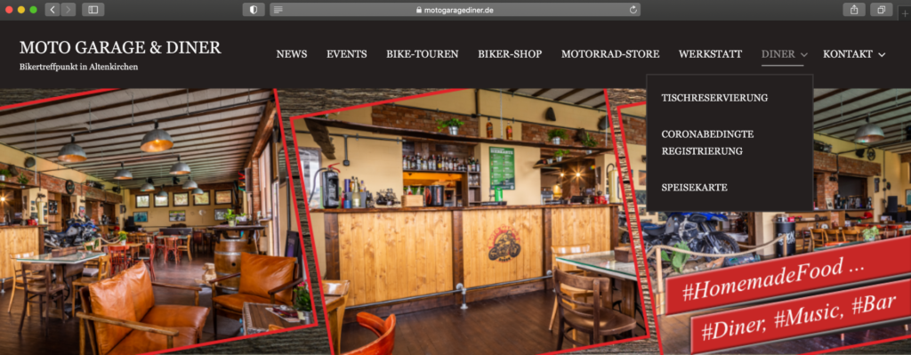 Moto Garage & Diner - https://motogaragediner.de